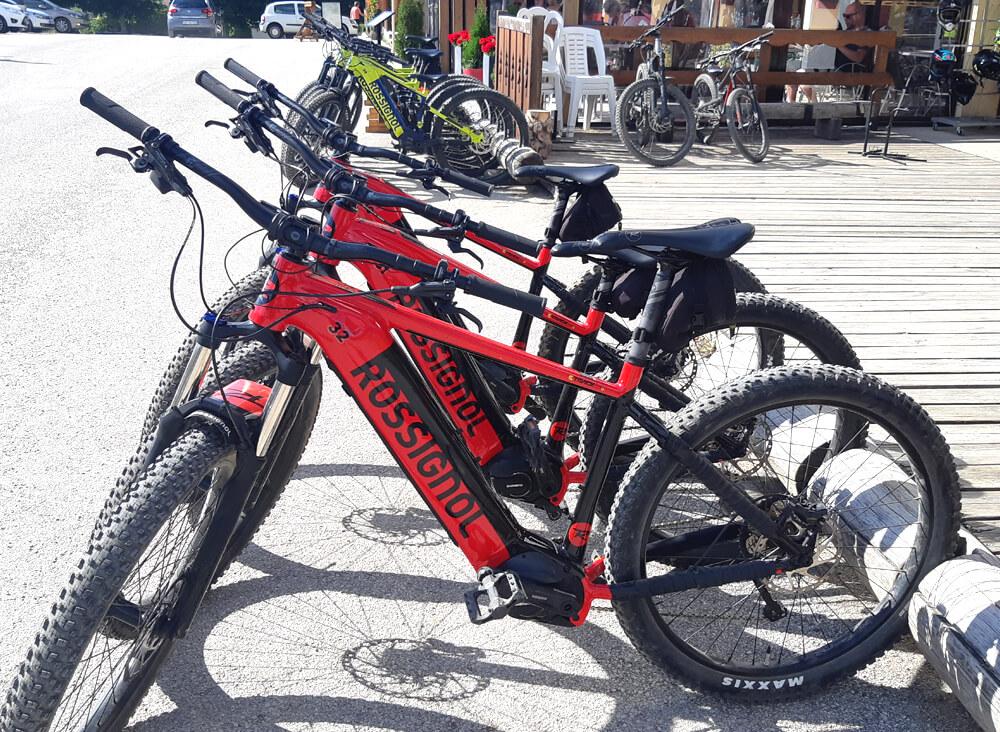 Location Vélo Électrique VTT Rossignol Métabief