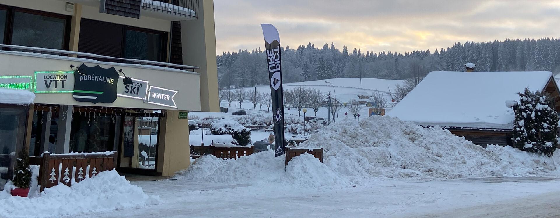 Adrénaline Location Ski Métabief Mont d'Or