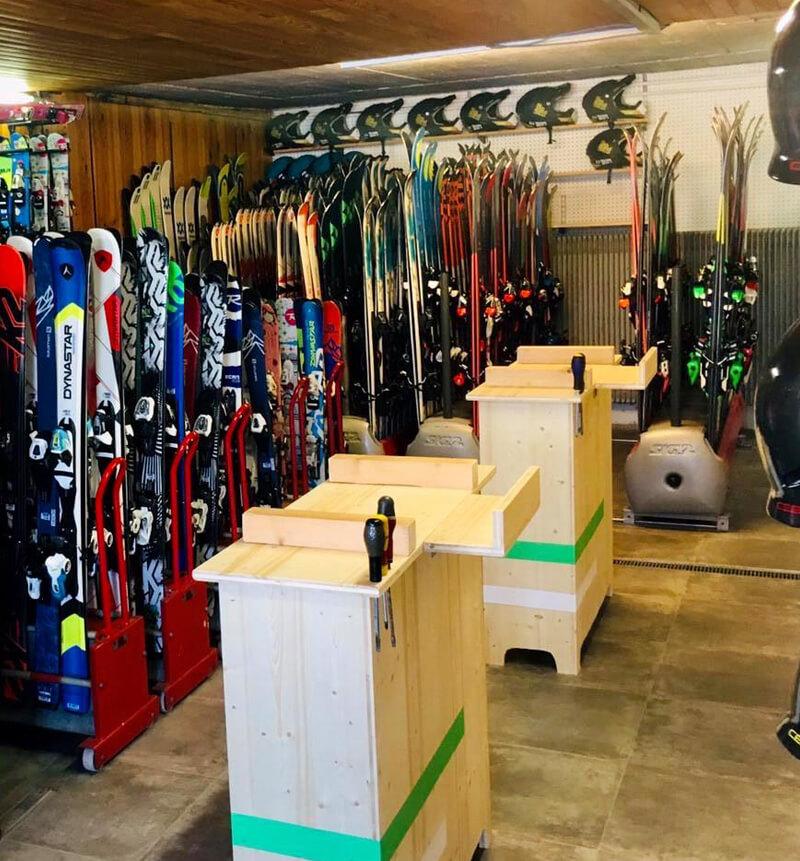 Atelier Réparation Entretien Fartage Ski Métabief Mont d'Or