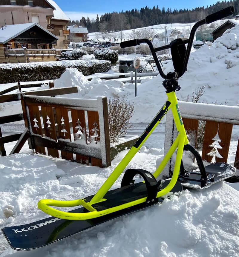 Location Snowscoot Métabief Mont d'Or